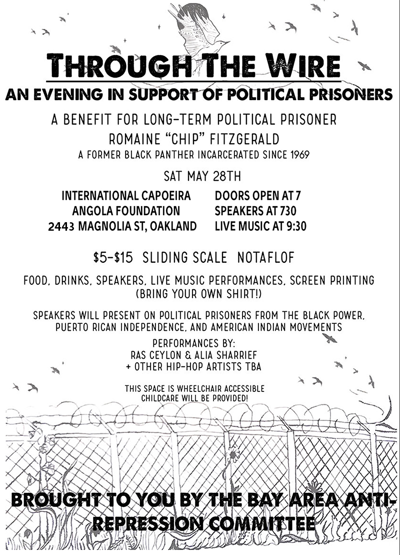 An Evening in Support of Political Prisoners @ Oakland | California | United States